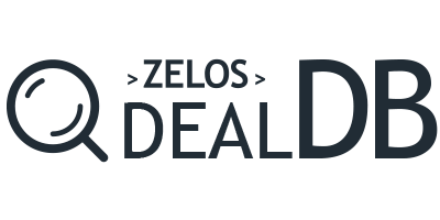 ZELOS Deal Database Logo